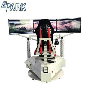 Exciting 3 Screens Car Racing Game Simulator Machine 1 Player