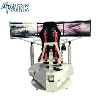 Quality Exciting 3 Screens Car Racing Game Simulator Machine 1 Player for sale