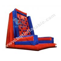 Quality Commercial Inflatable climbing wall,rock climbing for sale