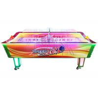 Wholesale EPARK Air Hockey Profession Supplier Patent Curved Table Air Hockey Coin Operated Game Machine from china suppliers