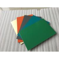 Quality Polyester Paint Aluminum Sandwich Panel 2000 * 5700 * 4mm With 0.30mm Alu for sale