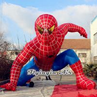 Wholesale Handsome Inflatable Spider-man for Shop and Outdoor Decoration from china suppliers