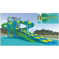 Wholesale Durable Amusement Park Adults / Kids Water Slides Fiberglass Speed Water Slides Equipment from china suppliers