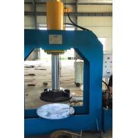 Wholesale Mounting / Dismounting Forklift Tire Press Machine Blue Yellow Silver Color from china suppliers