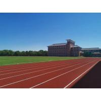 Buy cheap Weather Resistance EPDM Running Track With Colored EPDM Rubber Granules Material from wholesalers