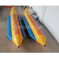 Buy cheap 0.9mm Durable PVC Tarpaulin Inflatable Banana Boat For 5 Persons from wholesalers
