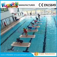 Wholesale DWF Material Customized Water Toys Inflatable Water Floats Yoga Exercise Mats from china suppliers