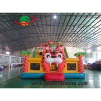 Wholesale 8 x 6M Tiger Inflatable Amusement Fun City Inflatable Amusement Playground For Sale from china suppliers