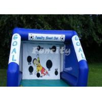 Wholesale Customized Size PVC Tarpaulin Inflatable Sport Games Football Goal from china suppliers