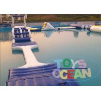 0.9mm Lake Inflatable Water Park Toys Inflatable Water Equipment For Inground