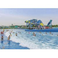 Wholesale Interactive Water Park Wave Pool , Amusement Park Tsunami Wave Pool from china suppliers