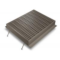 Wholesale Silver Channel Drain Grate Cover , Low Carbon Galvanised Drainage Grates from china suppliers