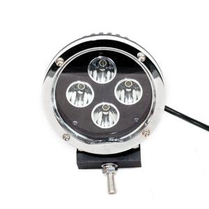 China 40 Watt 30 Volt 5.5 Inch Round Car LED work light Headlights Black Aluminum Housing on sale