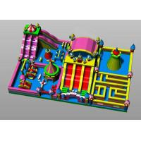 Wholesale Castle Playground Fun City Inflatables Easy To Set Up And Take Down from china suppliers