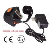 Wholesale Digitable 1W Cree LED Mining Headlamp Portable 4500Lux For Mineral Industry from china suppliers