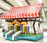 Wholesale Inflatable Bouncer - Crazy Cottage (AQ201-1) from china suppliers