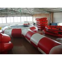 Wholesale Eco Friendly Inflatable Water Trampoline , Inflatable Outdoor Games For Beach from china suppliers
