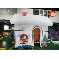 Wholesale Lovely Christmas Cartoon Inflatable House Tent 210D Oxford Cloth from china suppliers