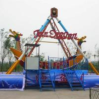 Wholesale Theme Park Pirate Ship Ride , Pirate Ship Boat Ride With Dragon Decoration from china suppliers