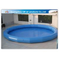 China Safety Round Children Big Inflatable Swimming Pool For Funny Water Game on sale