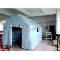 Wholesale Grey Waterproof 6X4m Inflatable Event Tent For Army Medical Or Camping from china suppliers