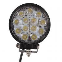 Wholesale 2 PCS 39W 2500lm Round Flood Epistar Work Light  Fog Driving Lamp Truck Tractor SUV 9 LED from china suppliers