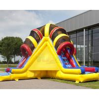 China Bright Colors Commercial Inflatable Slide Climbing Slipping Games OEM on sale