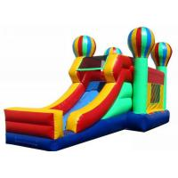 Wholesale Air Balloon Themed Inflatable Bounce House Combo With Extra Webbing Reinforced Strip from china suppliers