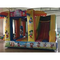 Wholesale PVC Tarpaulin 3 In 1 Inflatable Bouncer Combo Multi Color Widely Placed In Parks from china suppliers
