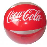 Wholesale COCA COLA PVC inflatable beach balls from china suppliers