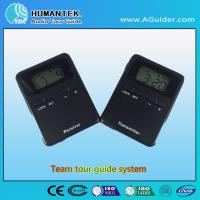 Wholesale 008A Hot Design Portable Wireless Voice  Transmitter  Mini  Black Team Audio Guide System from china suppliers