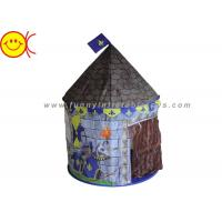 Wholesale Outdoor Children Play Inflatable Tent Knights Castle Design Play Tent House for Boys from china suppliers
