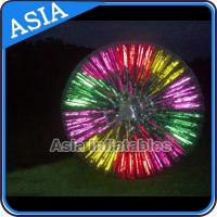 Wholesale Popular Inflatable Zorb Ball , Glow Zorb Ball , Fluorescent Roller Ball from china suppliers