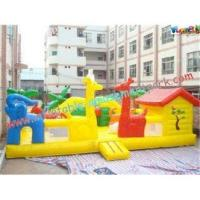 China Custom Giant Inflatable Amusement Park with Thick D Anchor Point for Child on sale