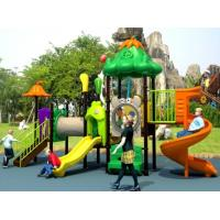 Wholesale Hot sale outdoor playground with plastic slide vegetable fruit serie VG-003 from china suppliers