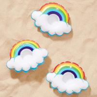 Wholesale Mini Rainbow Cloud Party Inflatable Drink Holder Plastic Vinyl Material from china suppliers