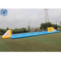 Quality Custom Inflatable Sports Games / Outdoor Inflatable Soccer Field Football Pitch for sale