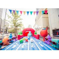 China Outdoor Giant Inflatable Toys Tropical Water Slide For Adult , Commercial Grade on sale