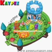 Wholesale Inflatable Happy funcity,Fun zone for kid,inflatable playland,crazy playgound KFT001 from china suppliers