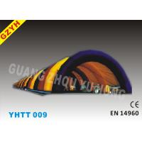 Wholesale 0.4mm PVC Tarpaulin 40m Commercial Inflatable Paintball Tent YHTT-009 from china suppliers