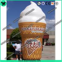 Giant Promotion Inflatable Product Model Replica / Inflatable Advertising Giant Icecream