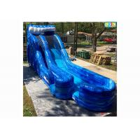 Wholesale Playground Giant Inflatable Slide , Safe Inflatable Double Slide from china suppliers