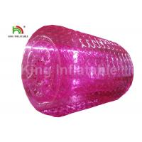Wholesale 2.4m Diameter Adults Pink Inflatable Water Zorb Roller PVC Water Toy For Amusement from china suppliers