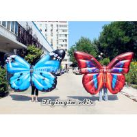 Wholesale Beautiful Inflatable Butterfly Wings Costumes for Parade, Party and Stage from china suppliers
