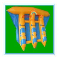 Wholesale Exciting PVC Inflatable Fly Fishing Boats Banana Shape for Water Park(CY-M2729) from china suppliers