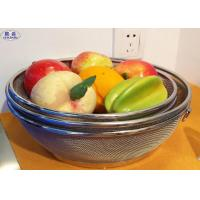 Wholesale Customized Wire Mesh Fruit Basket , Metal Wire Basket Fruit Bowl For Home / Kitchen from china suppliers