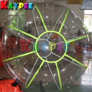 Wholesale Fluorescent water ball,TIZIP zipper ball, water game Aqua fun park water zone KWB003 from china suppliers
