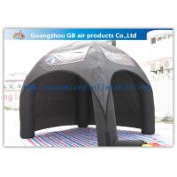 Wholesale Advertising Inflatable Air Tent , Black Blow Up Spider Dome Tent from china suppliers