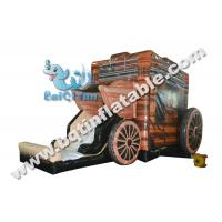 Wholesale Inflatable combo,inflatable bounce with slide,Digital printing combo from china suppliers
