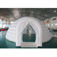 Wholesale Outdoor Advertising Inflatable Igloo Dome Tent For Trading Fair / Wedding from china suppliers
